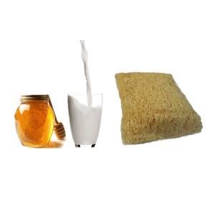 Loofah Σαπούνι Honey Milk