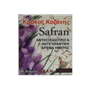 Safran αντιοξειδωτική & αντιγηραντική κρέμα ημέρας Averde