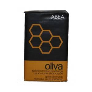 Πράσινο σαπούνι ελαιολάδου με κουκούτσι ελιάς και μέλι Oliva ABEA
