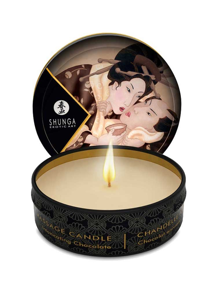 Massage Candle Intoxicating 30ml with Chocolate by Shunga