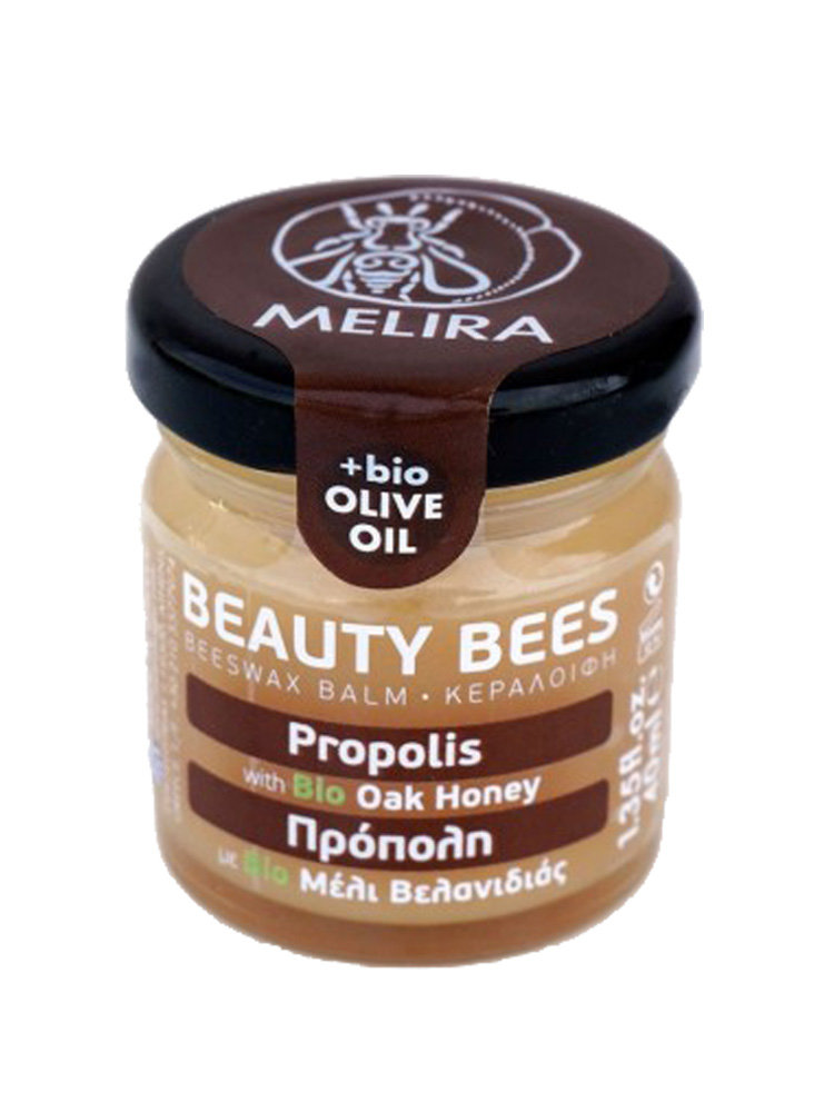 Κηραλοιφή με μέλι αγριοβελανιδιάς και πρόπολη από την Melira