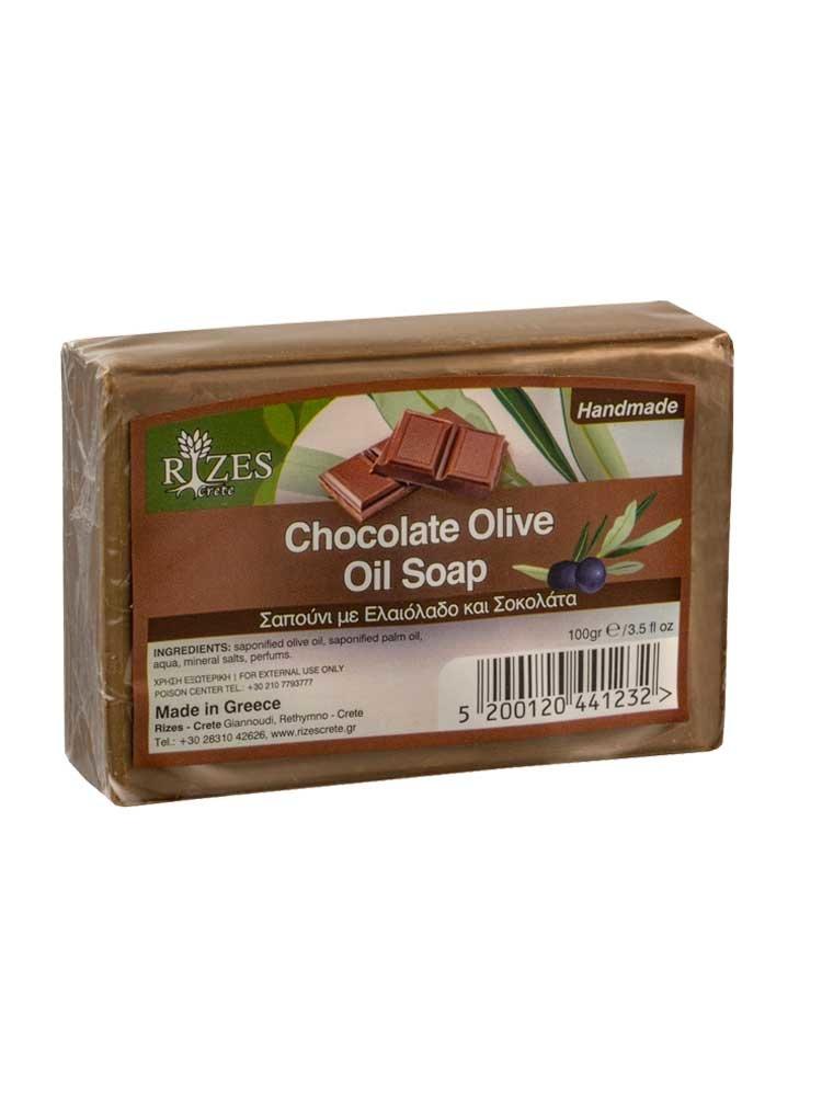 Σοκολάτα Σαπούνι Ελαιολάδου 100gr από την Rizes Crete