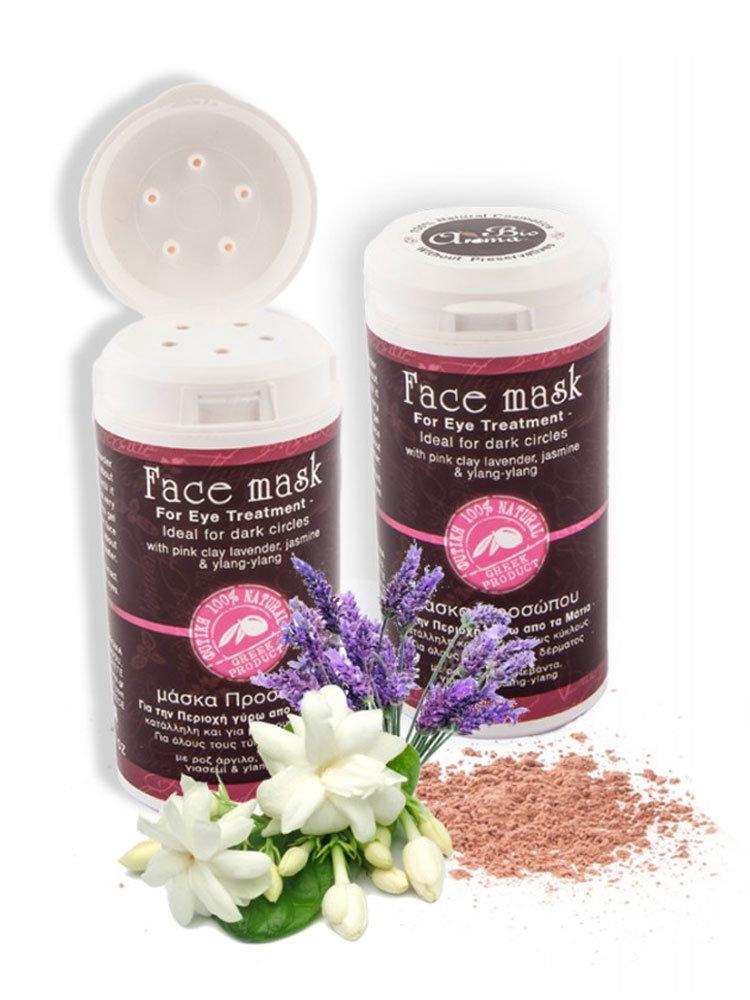 Μάσκα Προσώπου Pink Clay Bioaroma