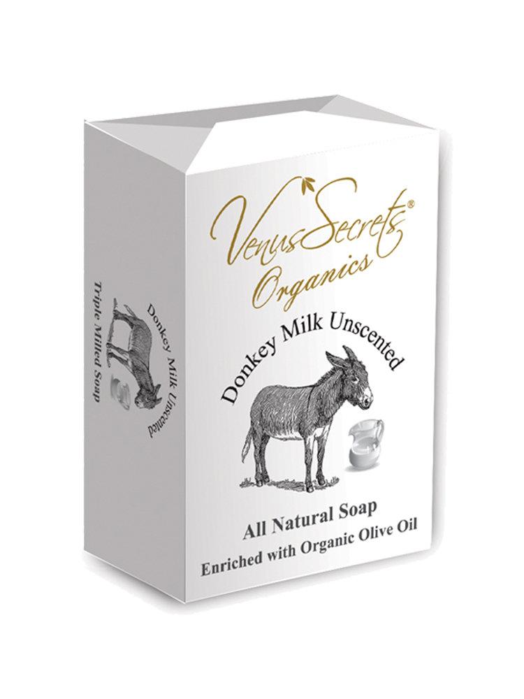 Σαπούνι με γάλα γαϊδάρας άοσμο από Venus Secrets Organics 150gr