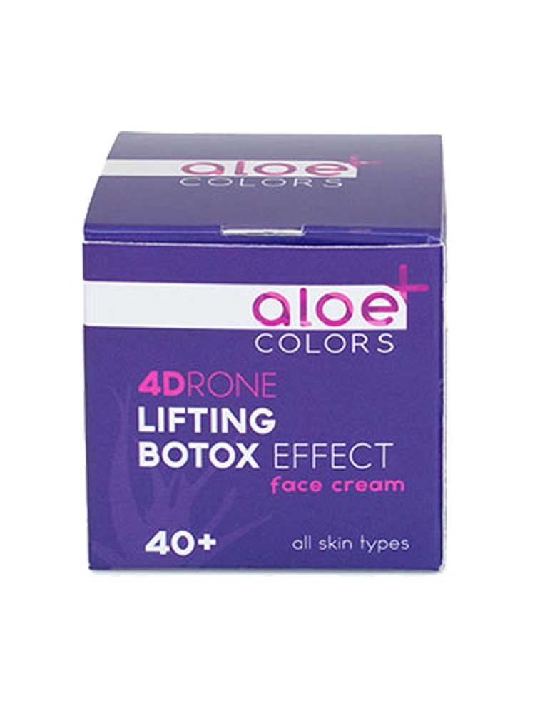 4Drone Innovation Lifting Botox Εffect Κρέμα προσώπου Aloe+Colors by Aloe Plus
