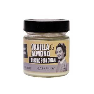 Βιολογική κρέμα σώματος Vanilla & Almond 200ml Apiarium