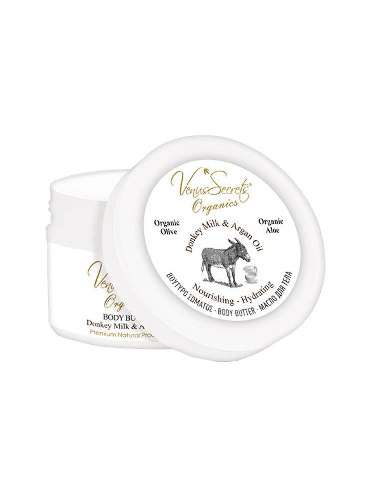 Body Butter with Donkey Milk & Argan Oil by Venus Secrets Organics