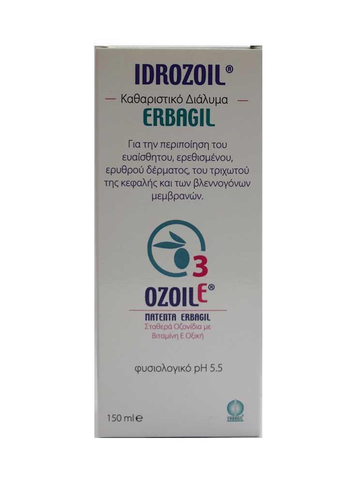 Idrozoil Καθαριστικό διάλυμα150ml by Erbagil
