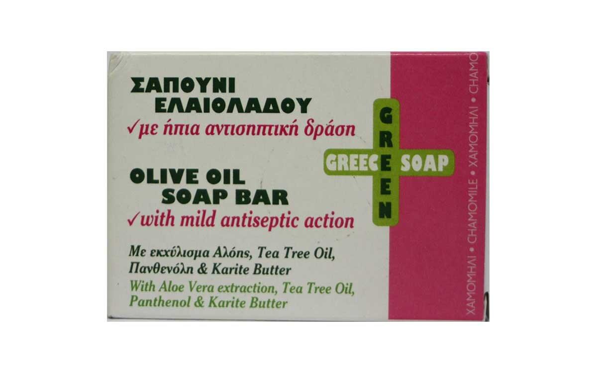 Σαπούνι Ελαιολάδου με ήπια αντισηπτική δράση 100gr Elaa