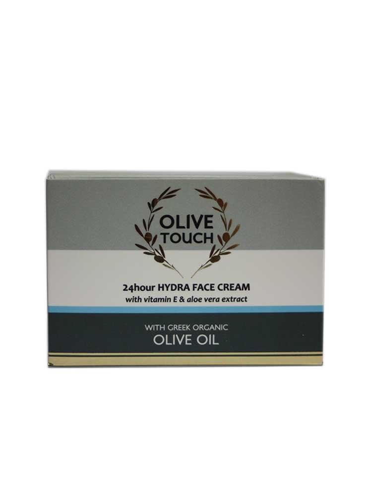 24ωρη ενυδατική κρέμα Olive Touch