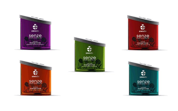 Senze Massage Candle Teasing by Swede 150ml