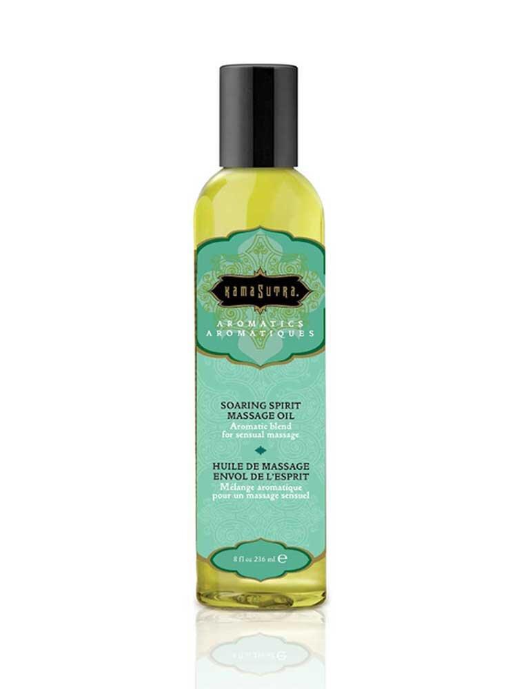 Soaring Spirit Aromatics Massage Oil 236ml by Kamasutra