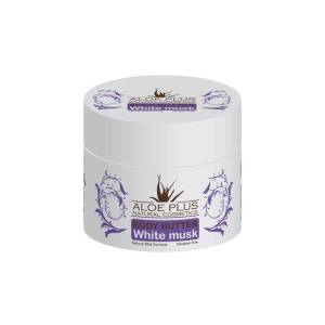 Body butter με Αλόη και άρωμα White Musk Aloe Plus