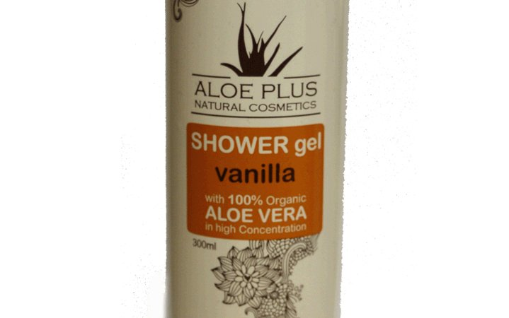 Shower Gel Vanilla by Aloe Plus