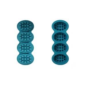 4 ανάγλυφα οβάλ φορμάκια με 14 δάχτυλα αντικυτταρίτιδας