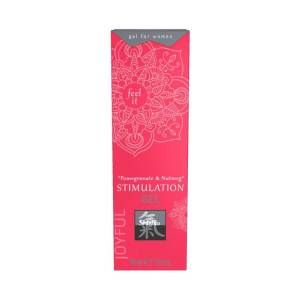 Joyful Stimulation Gel Pomegranate & Nutmeg by Shiatsu