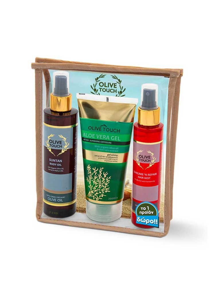 Sun Pleasure Gift Set 200ml+200ml+125ml by Olive Touch