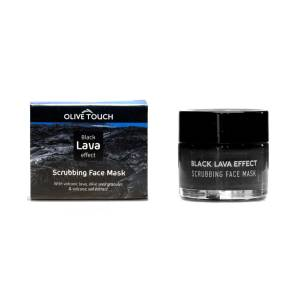 Black Lava Effect Μάσκα Προσώπου 50ml Olive Touch