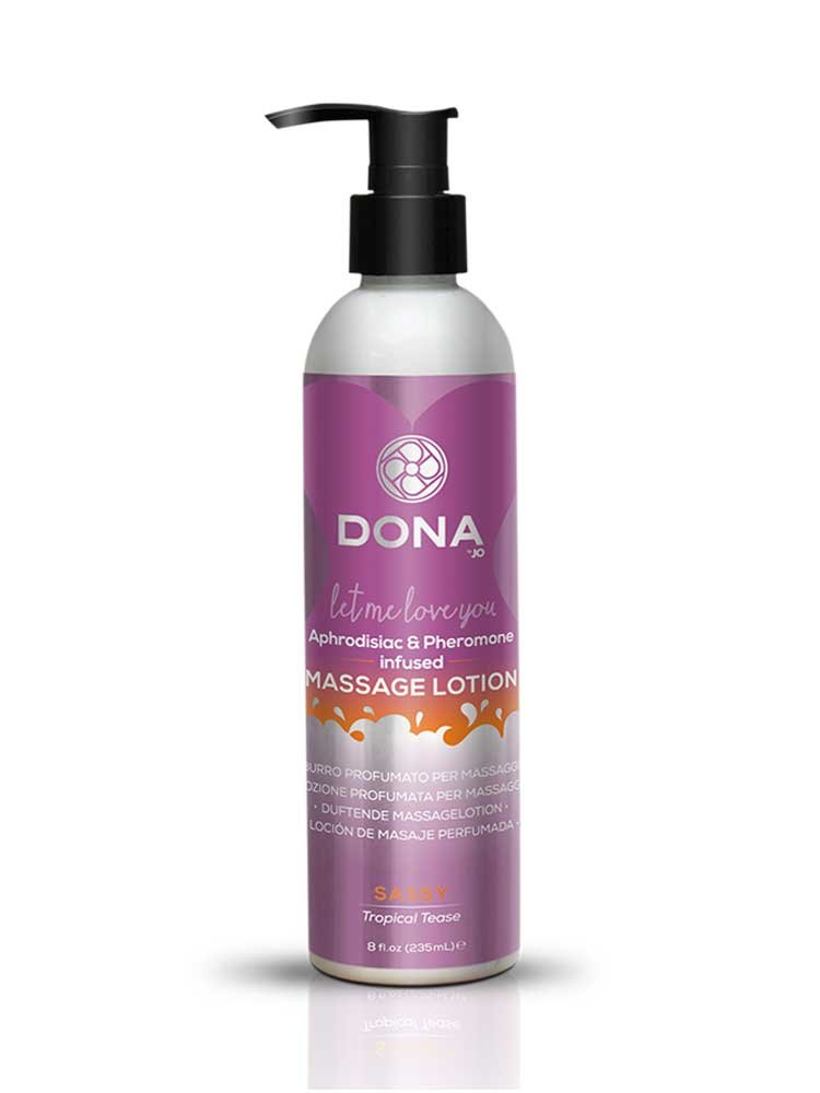 Sassy (Tropical Tease) Kissable Massage Lotion 250ml by Dona