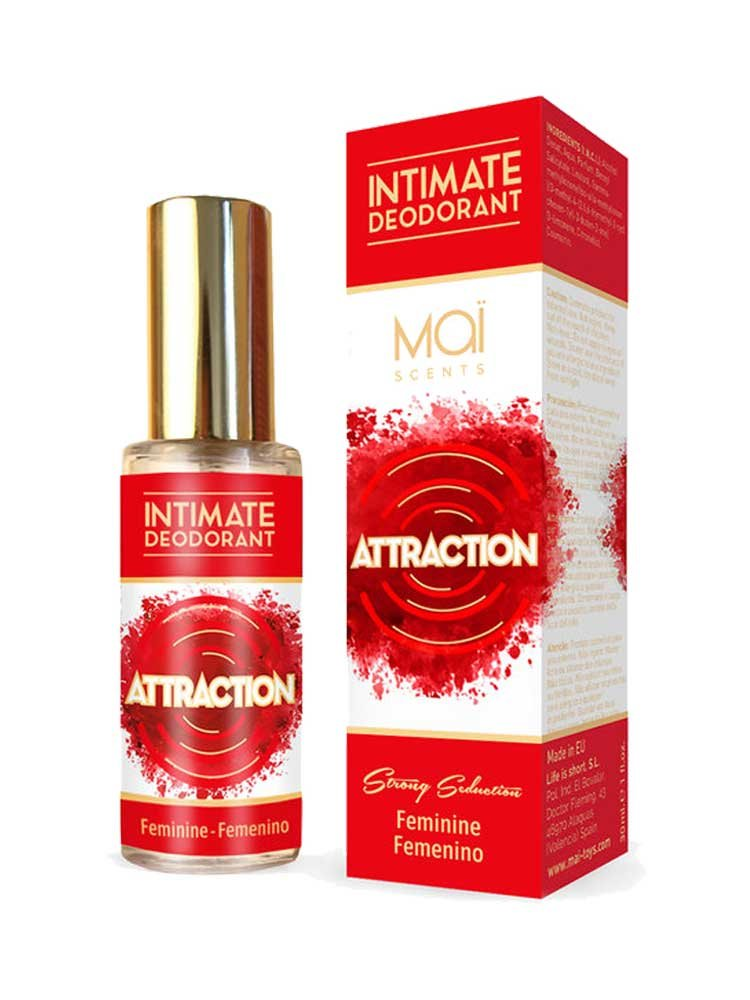 Attraction Intimate Deodorant Feminine 30ml by Mai Scents