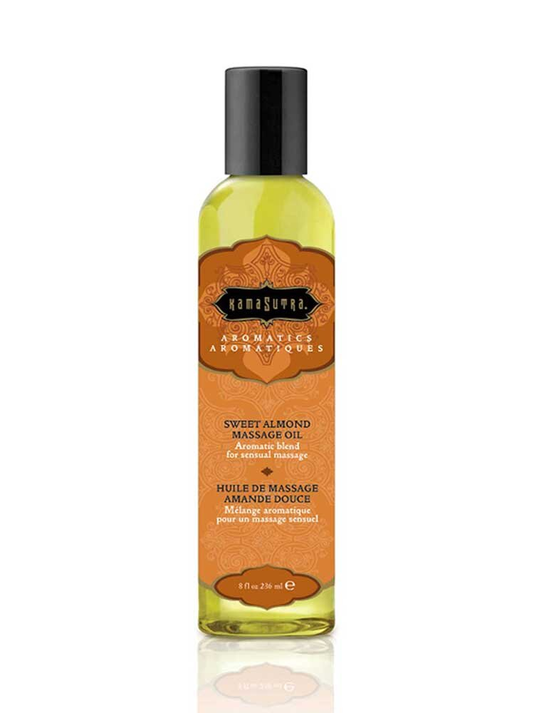 Sweet Almond Aromatics Massage Oil 236ml by Kamasutra