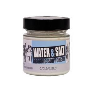 Βιολογική κρέμα σώματος Water & Salt 200ml Apiarium