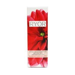 24ωρη κρέμα ενυδάτωσης με Αλόη Βέρα και Υαλουρονικό Οξύ by Ryor 50ml