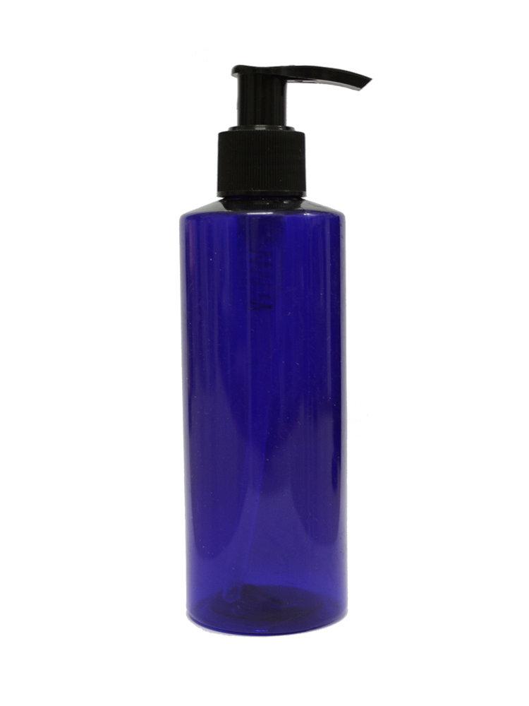 Μπουκάλι 200ml με Αντλία (μπλε)