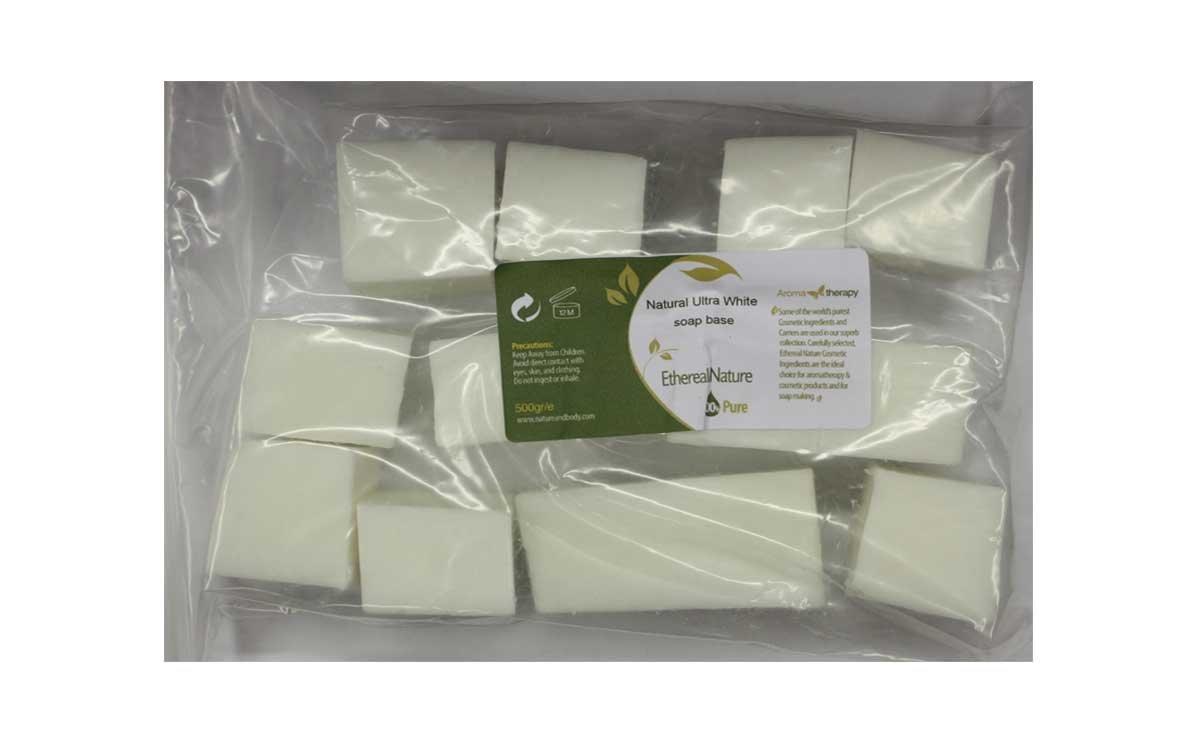 Natural Ultra White Soap Base 500gr