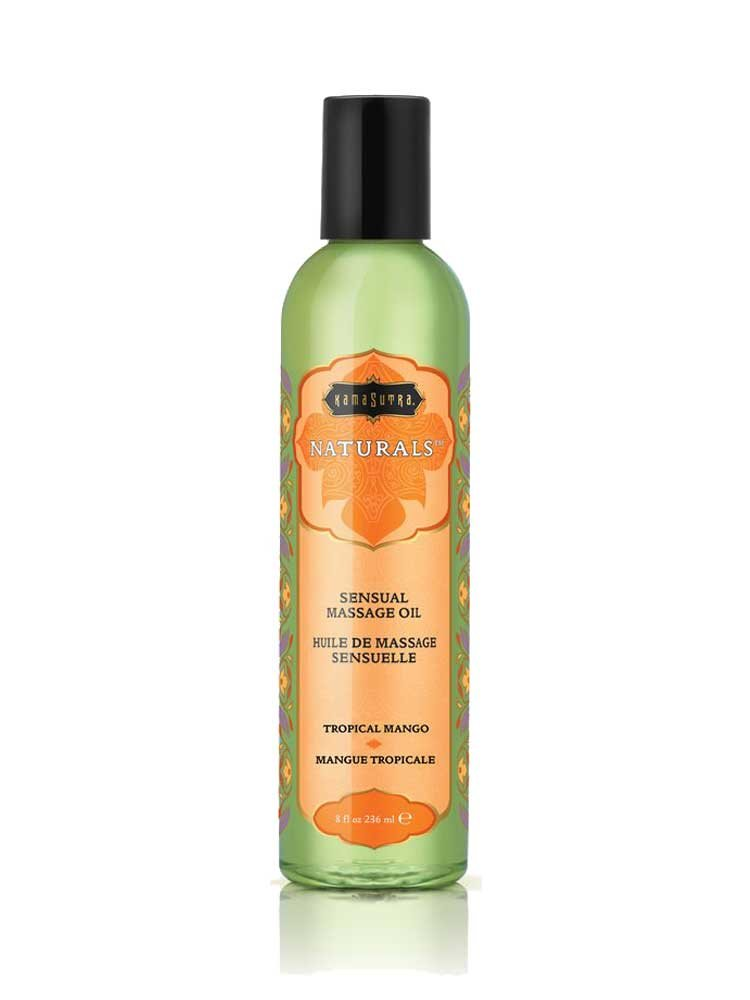 Λάδι Massage Tropical Mango - The Naturals by Kamasutra