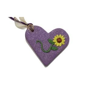 Καρδιά με Λουλούδι
