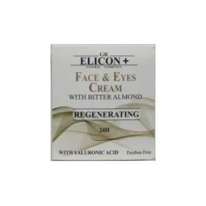 Αναπλαστική Κρέμα Ματιών- Προσώπου 24ωρης δράσης με Πικραμύγδαλο από την εταιρία Gr Elicon+