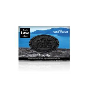 Χειροποίητο Σαπούνι Black Lava Effect 100gr