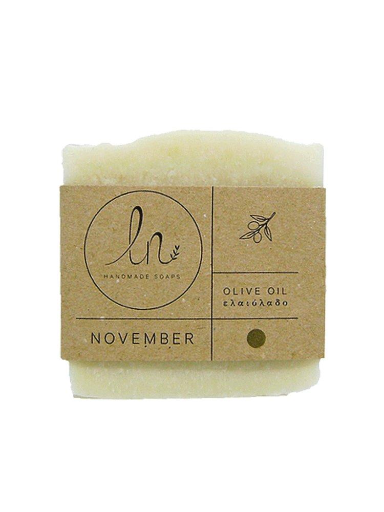 Νοέμβριος - Σαπούνι Ελαιολάδου 100gr από LN Handmade Soaps