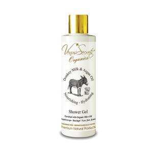 Shower Gel with Donkey Milk and Argan Oil by Venus Secrets Organics