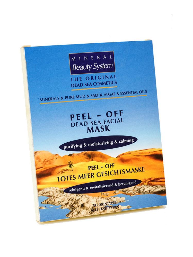 Peel-Off Mask Dead Sea Face Mask by Mineral Beauty 30gr