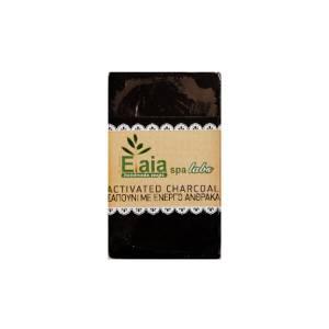 Σαπούνι με Ενεργό Άνθρακα, Κόκκους Αμυγδάλου & Λάδι Σταφυλιού Elaia Spa Labs