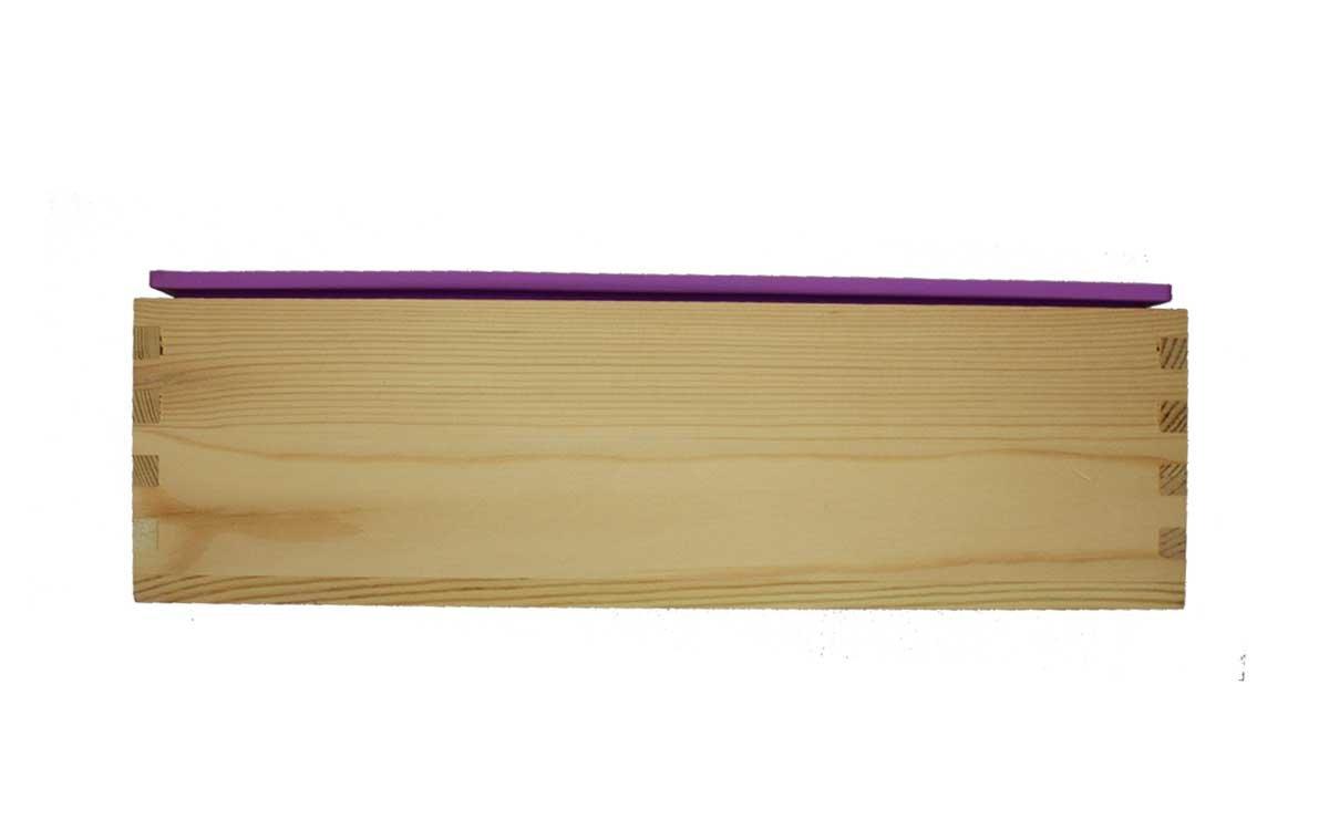 Φόρμα σιλικόνης με ξύλινη υποδοχή