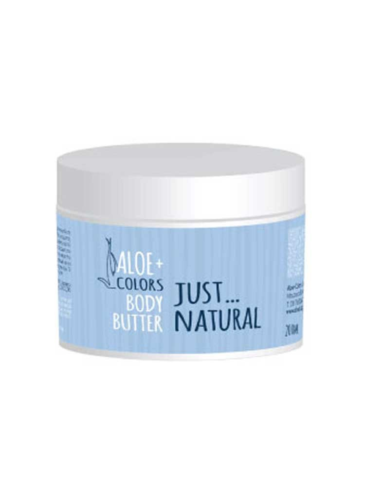 Body Butter Just Natural 200ml Aloe+Colors by Aloe Plus