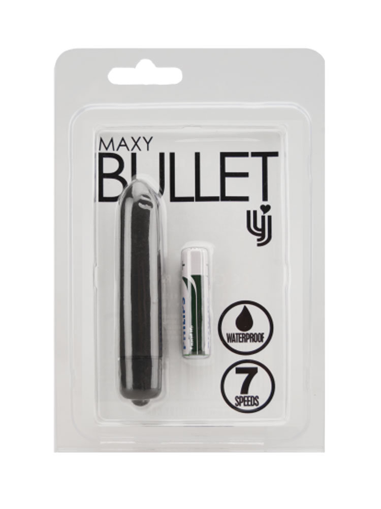 Maxy Bullet 7 Speed Black by Loving Joy