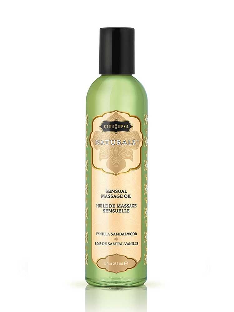 Λάδι Massage Vanilla Sandalwood 236ml - The Naturals by Kamasutra