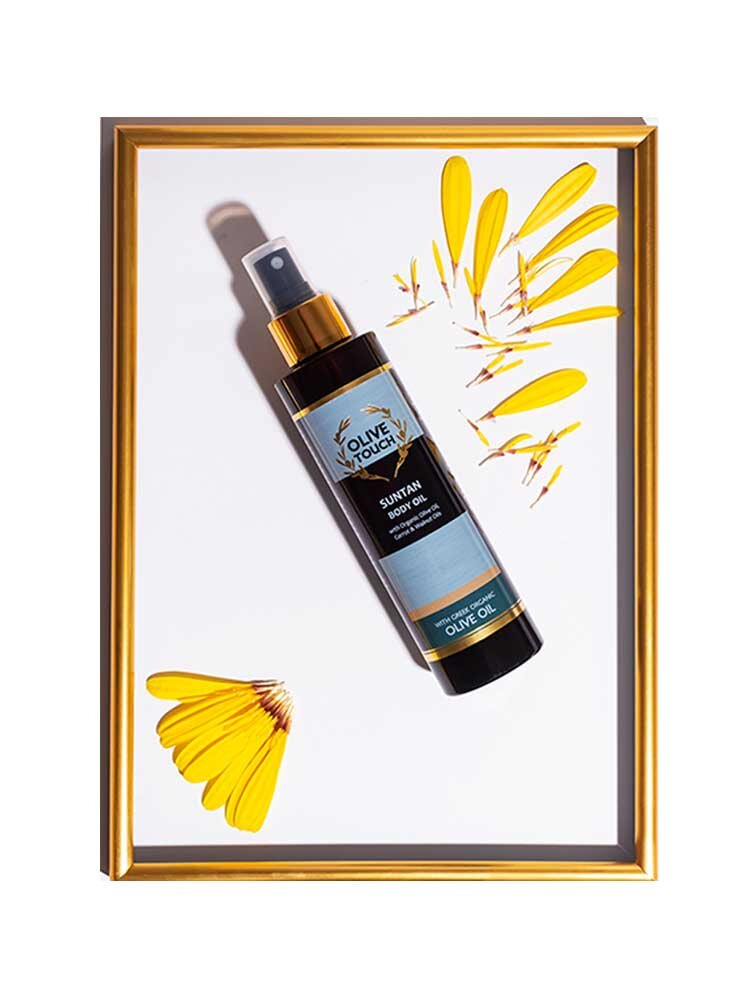 Sun Tan Body Oil 200ml Olive Touch