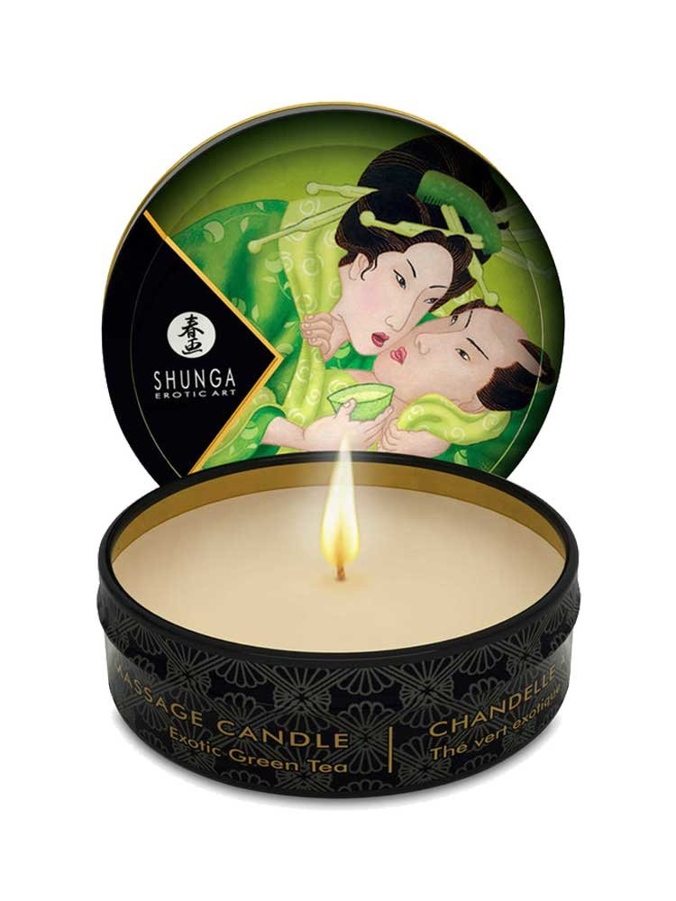 Massage Candle Zenitude 30ml with Green Tea by Shunga