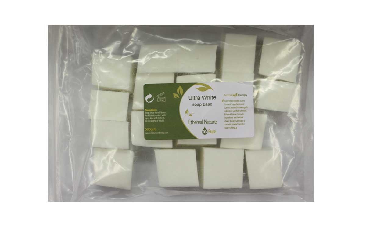 Ultra White Soap Base 500gr