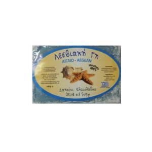 Σαπούνι ελαιολάδου με άρωμα Αιγαίου Λεσβιακή Γη
