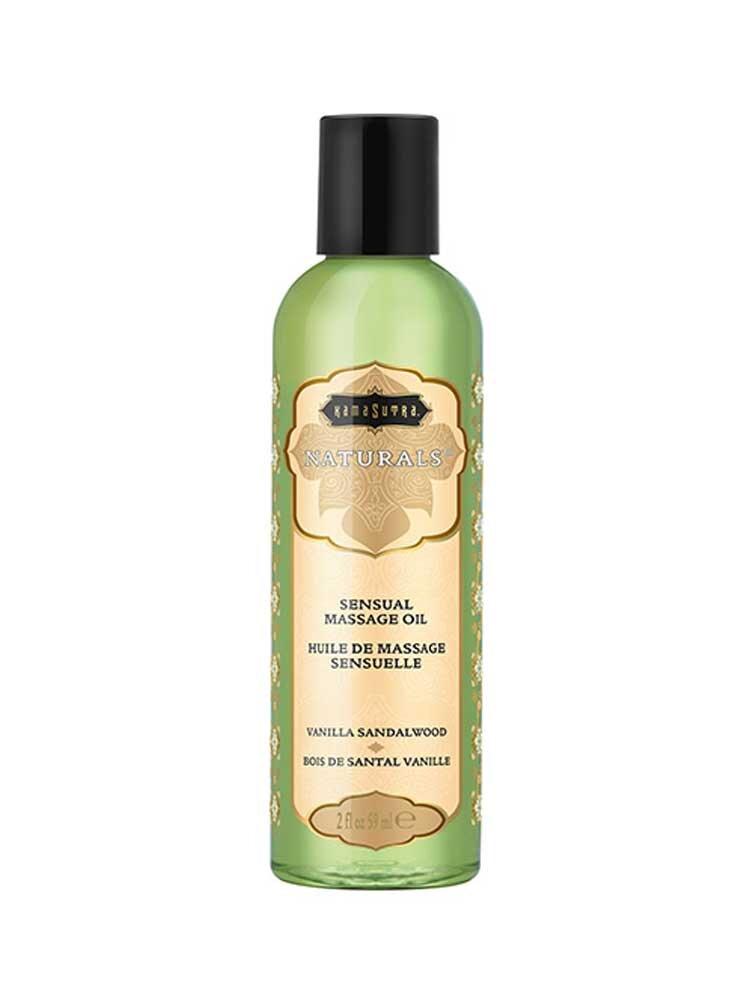 Λάδι Massage Vanilla Sandalwood 59ml - The Naturals by Kamasutra