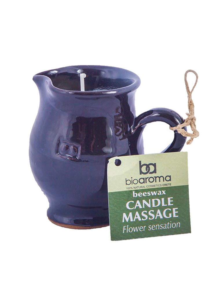 Beeswax Candle Massage Flower Sensation by Bioaroma