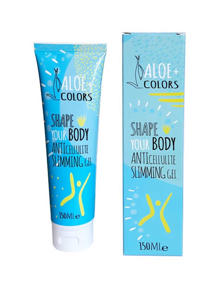 Shape Your Body Gel Αδυνατίσματος 150ml by Aloe + Colors