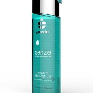 Senze Herbal Aphrodisiac Tranquility Massage Oil 75ml  Spearmint/ Rose/ Orange by Swede