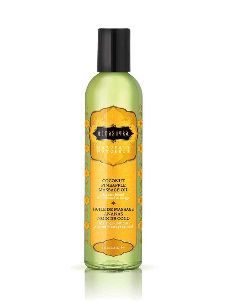 Λάδι Massage Coconut Pineapple 236ml - The Naturals by Kamasutra